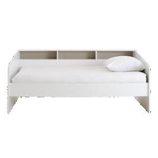 FLY-lit 90x200cm blanc niches 4couleurs incluses
