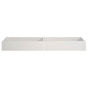 FLY-lot de 2 tiroirs blanc