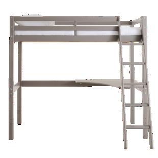 FLY-lit 90x190 cm h177 cm pin vernis gris