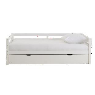 FLY-lit gigogne 90x190 cm pin blanc