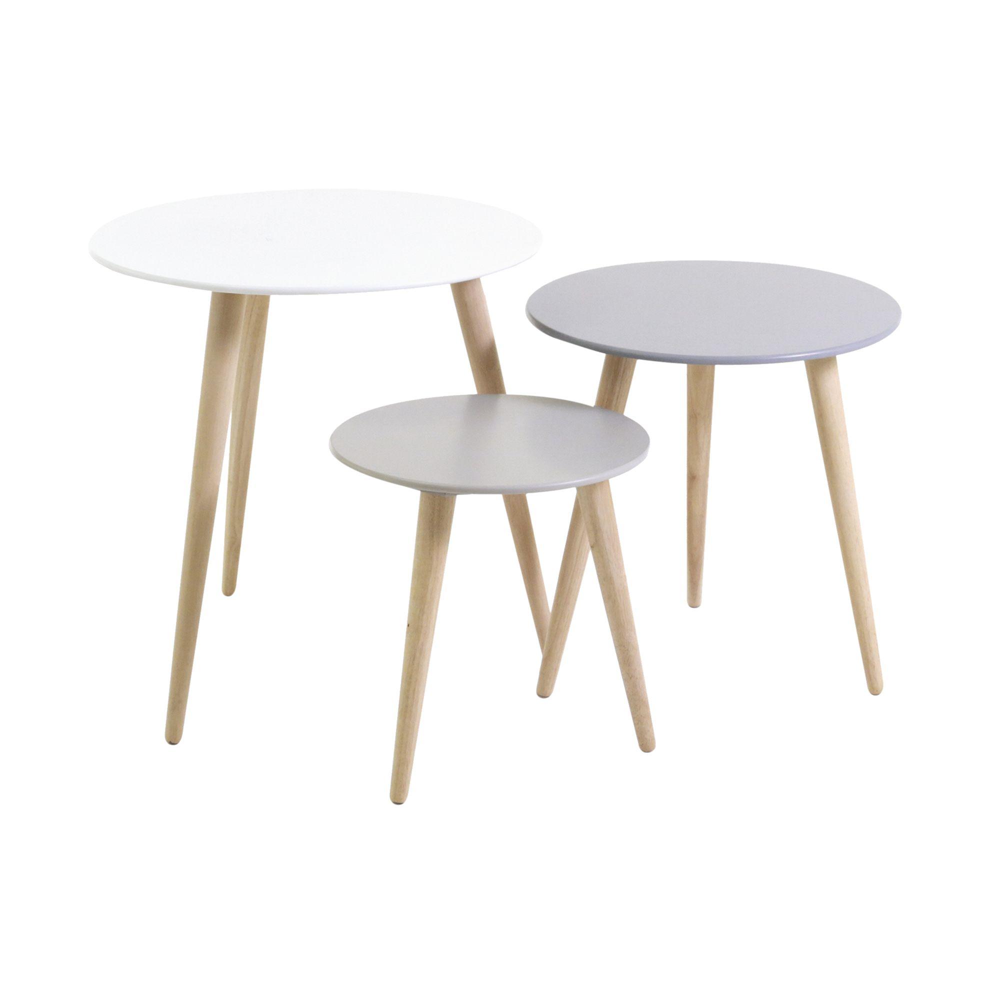 Set De 3 Tables Gigogne Fly