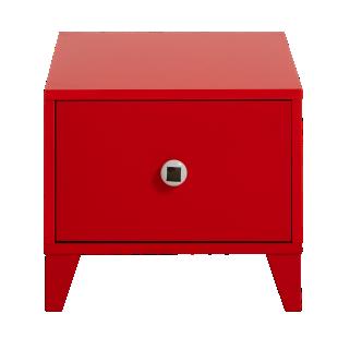 FLY-chevet 1tiroir rouge
