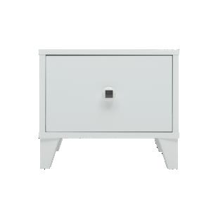 FLY-chevet 1 tiroir blanc