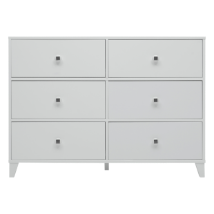 FLY-commode 6 tiroirs blanc