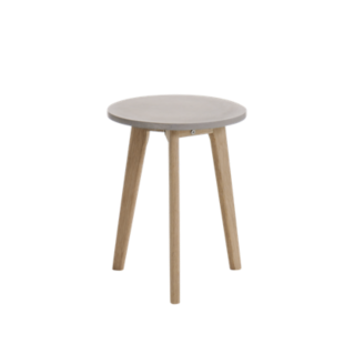 FLY-table basse h40 chene et beton