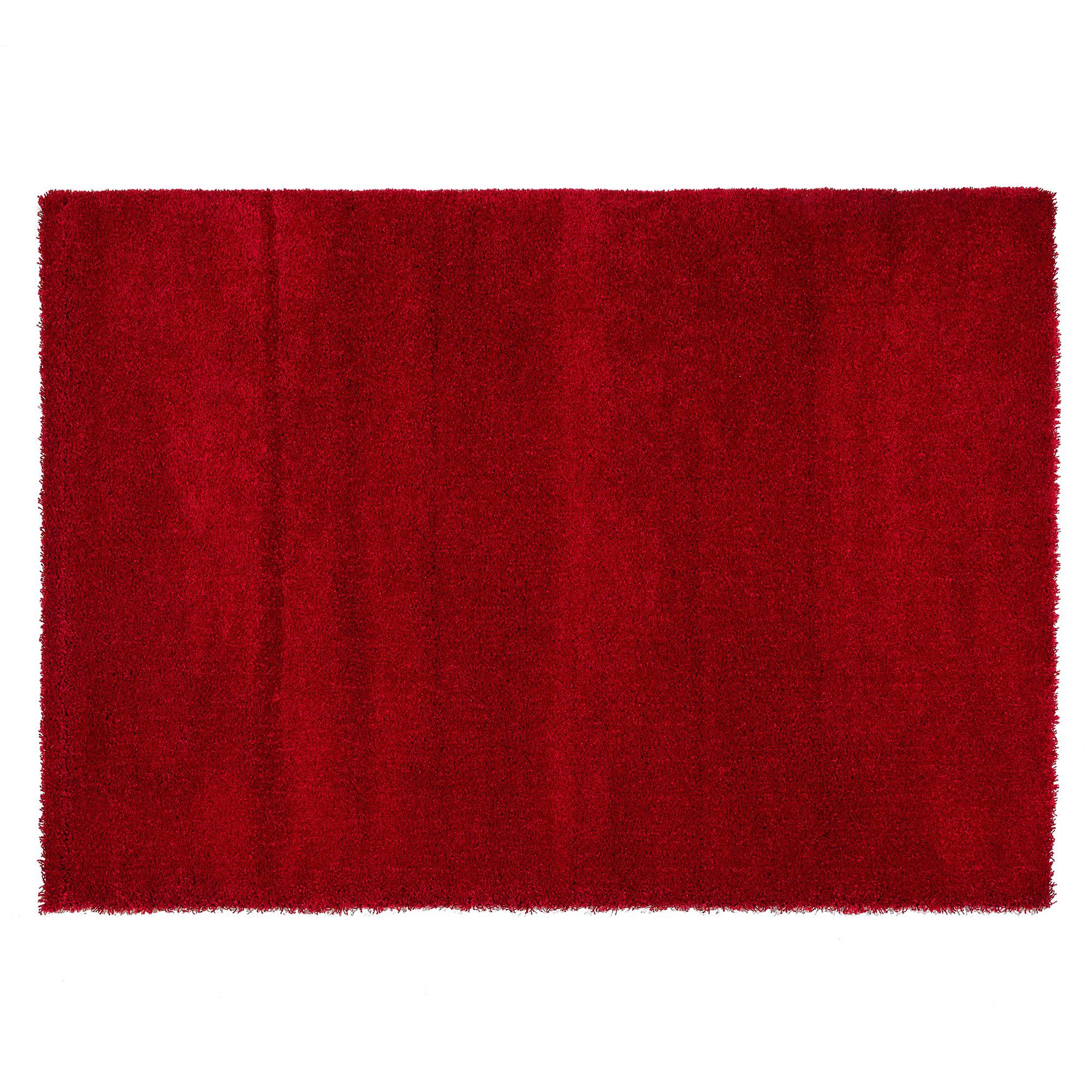Tapis 170x120 rouge Tapis chambre & salon Tapis Textile