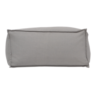 FLY-pouf rectangle canvas gris smoke