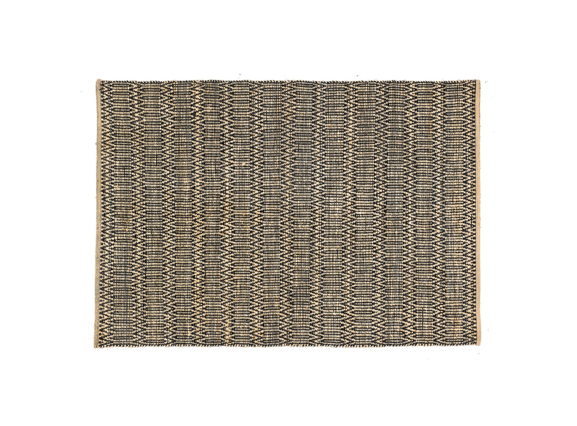 Tapis Jute Coton 160x230 Beige Tapis Chambre Salon Tapis Textile Fly