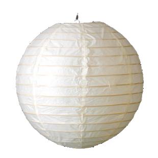 FLY-boule japon d50cm blanc
