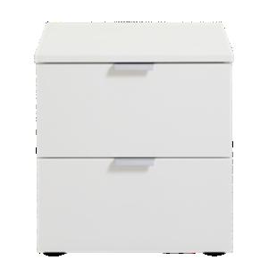 FLY-chevet blanc 2 tiroirs