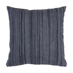 FLY-coussin coton 40x40 blanc/noir