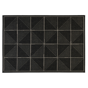 FLY-tapis 120x170 gris/blanc