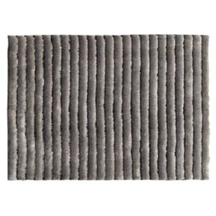 FLY-tapis tufte mecanique 160x230 gris/noir