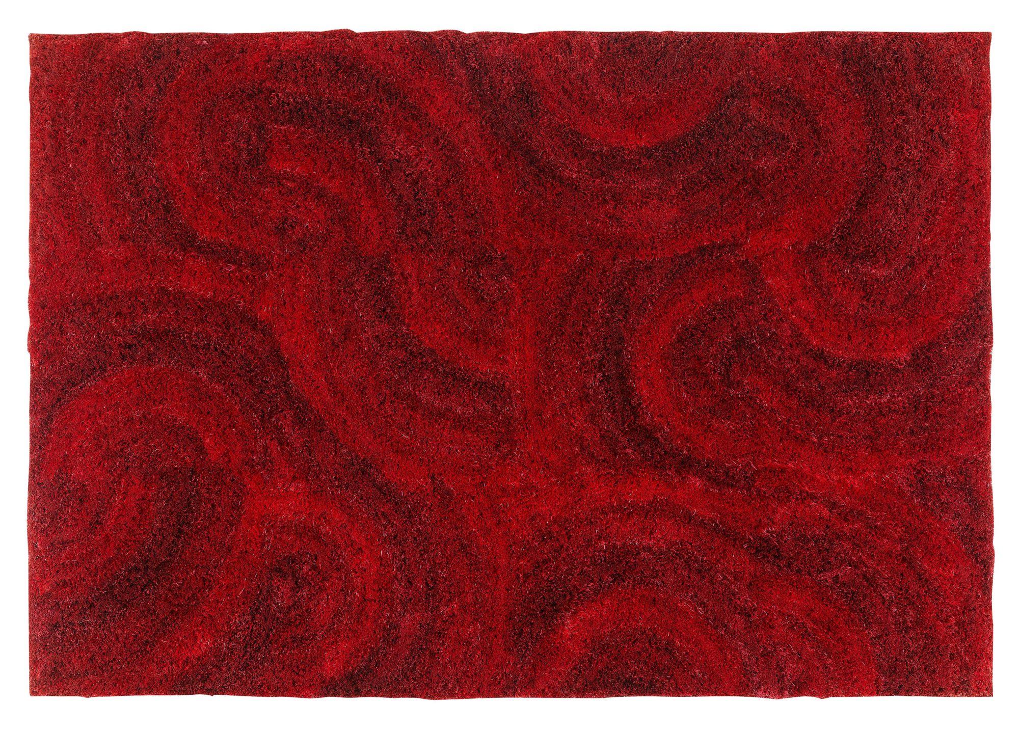 Tapis 160x230 rouge Tapis chambre & salon Tapis Textile