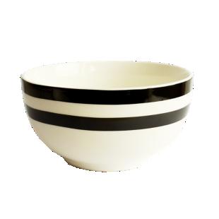 FLY-bol raye 55cl noir/blanc