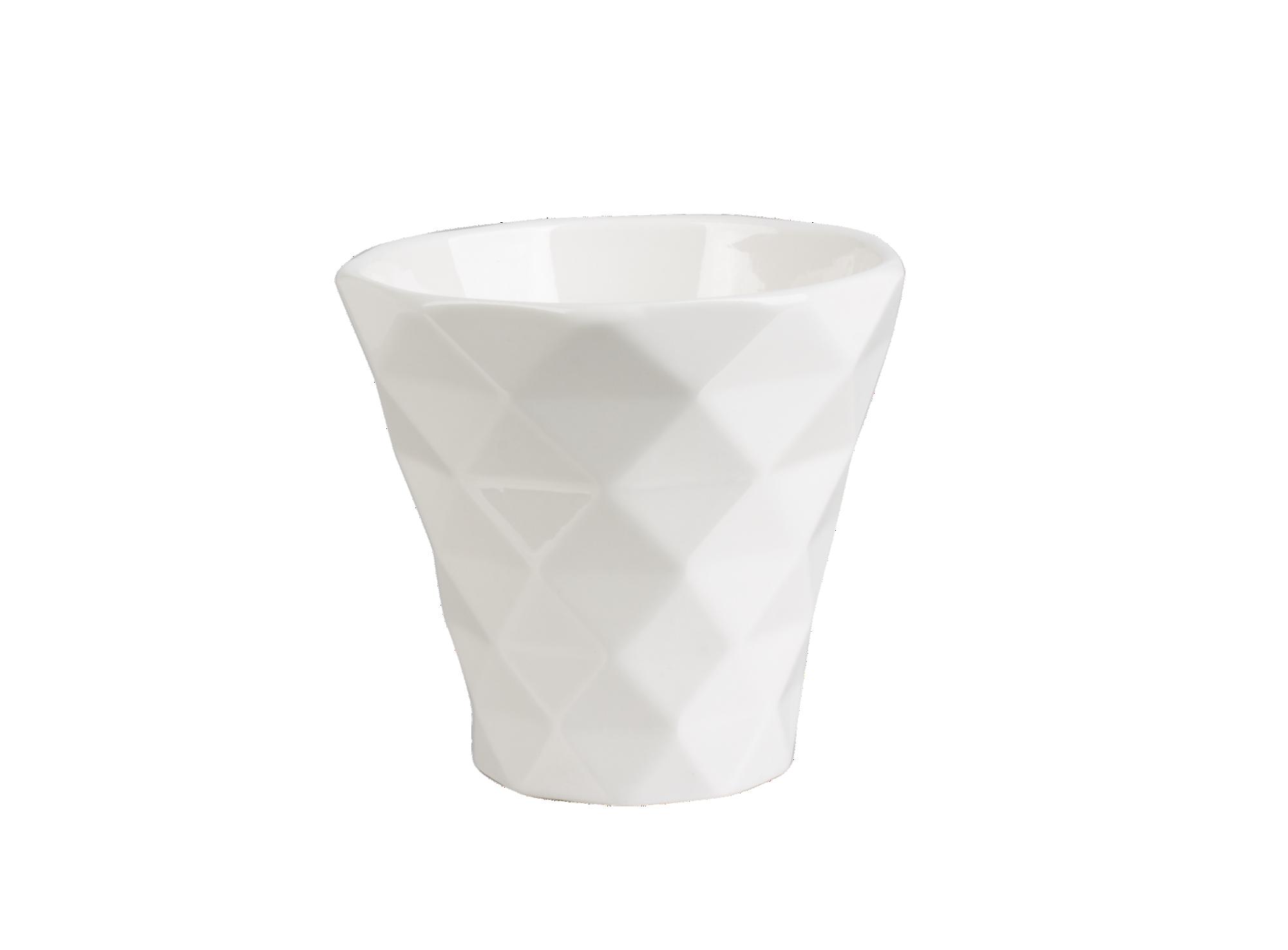 Mug 20cl en porcelaine coloris blanc. resiste au lave-vaisselle et au ...