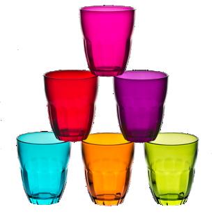 FLY-lot de 6 gobelets multicolores