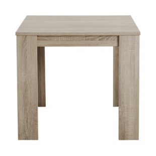 FLY-table carree 88x88 chene