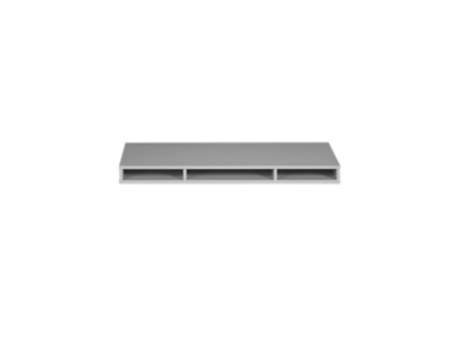plateau compartiment gris   Fly