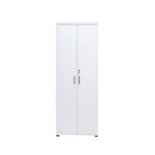 FLY-armoire haute blanc/blanc