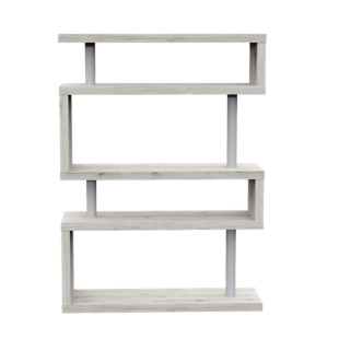 FLY-etagere 5 tablettes decor chene sonoma