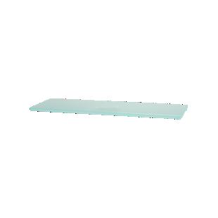 FLY-etagere verre satine 40x13 cm