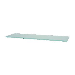 FLY-etagere verre satine 60x18 cm