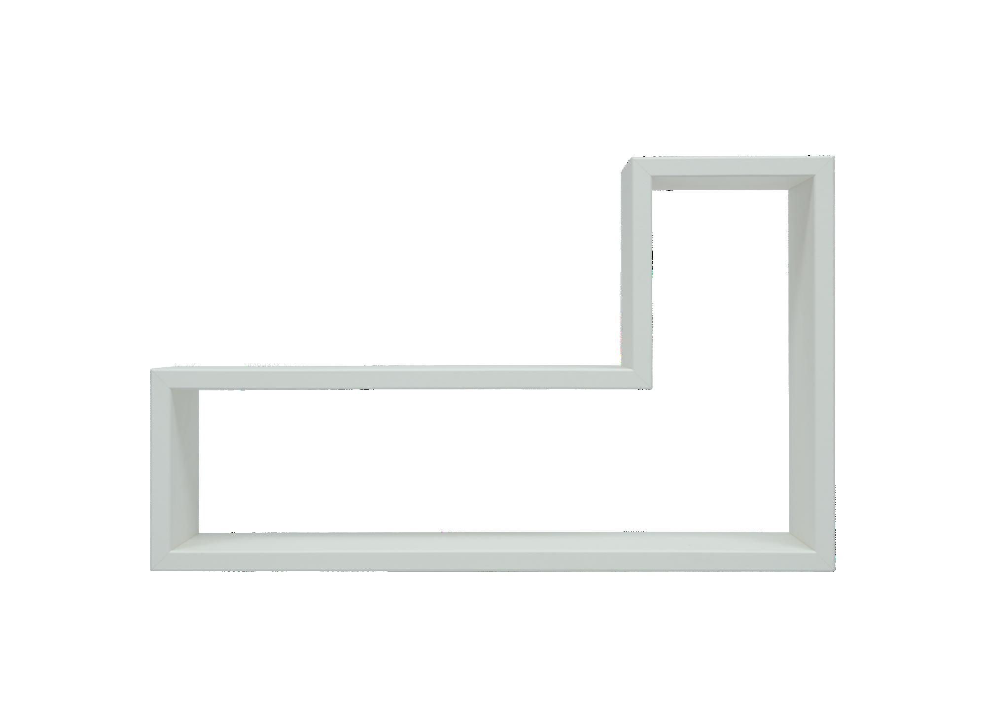 Etagere en panneaux de moyenne densite revetement decor polychlorure  ...