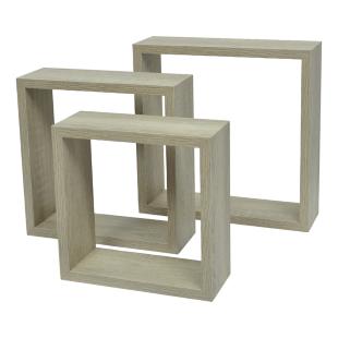 FLY-set de 3 cubes sonoma