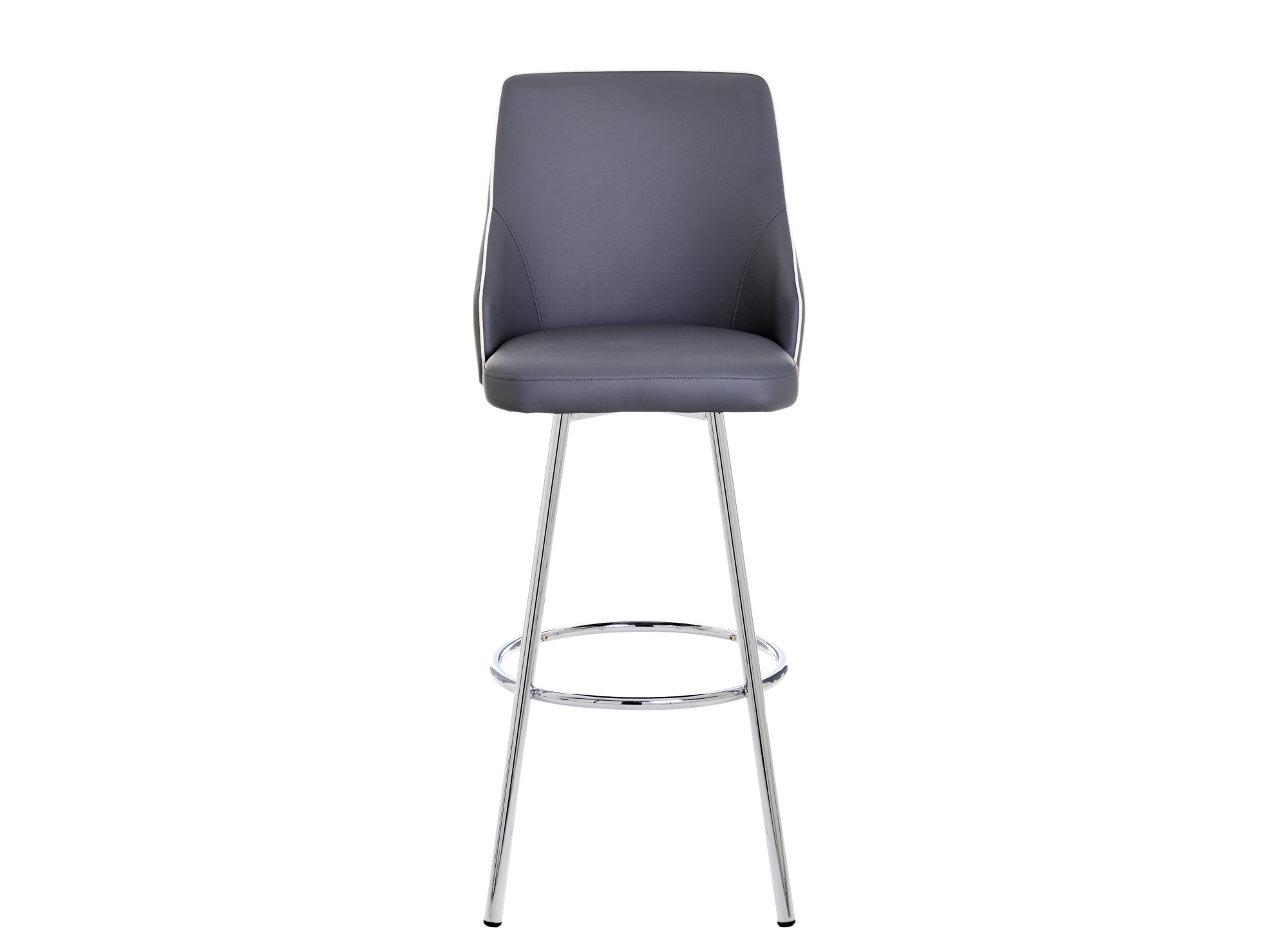 Tabouret De Bar Pivotant Gris Tabouret Table Chaise Meuble Fly