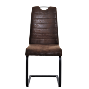 FLY-chaise microfibre chocolat