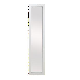 FLY-miroir psyche h150.4cm cadre blanc