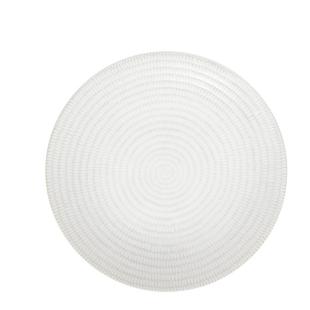 FLY-assiette plate d27cm en gres beige