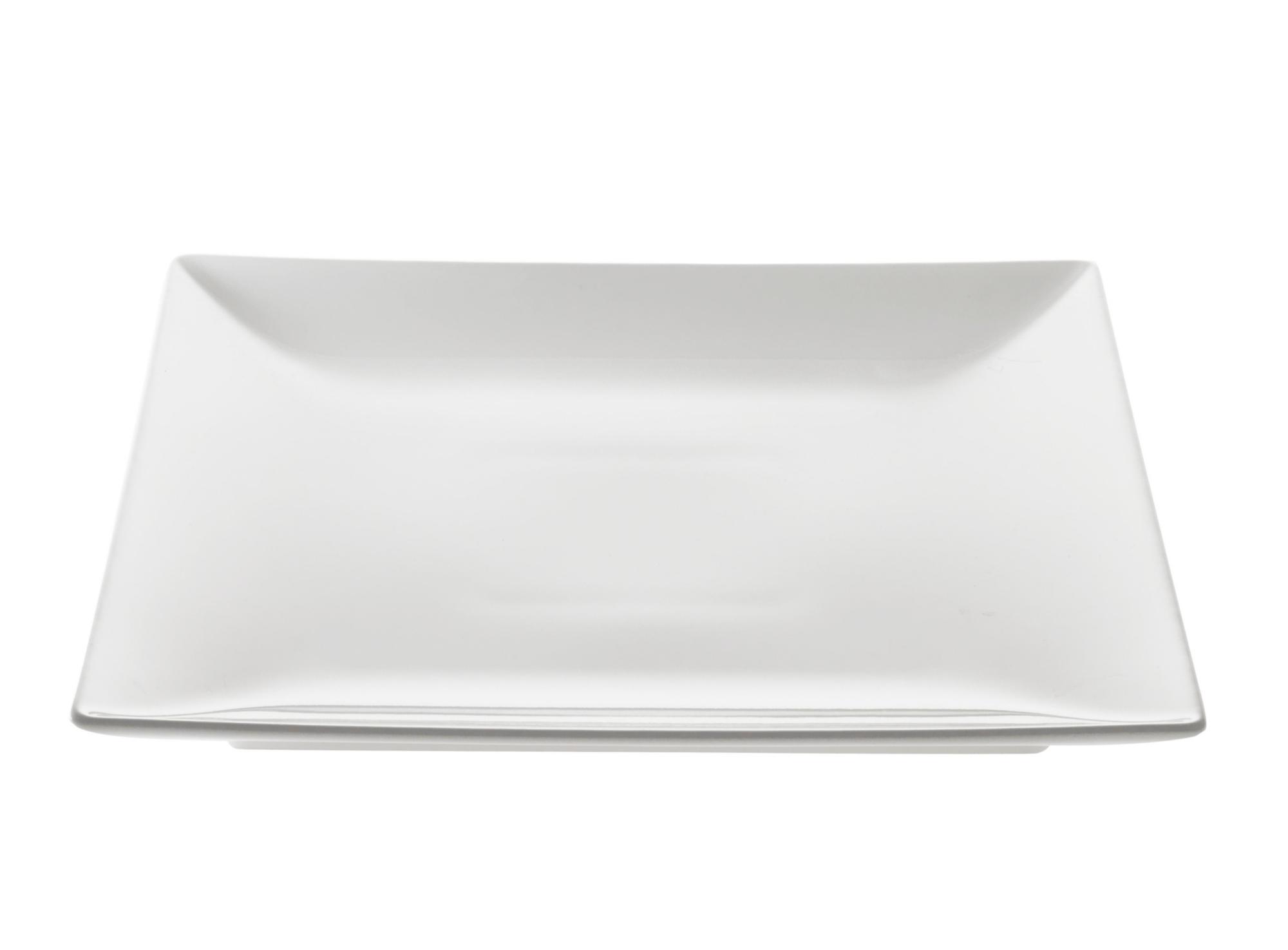 Assiette plate en gres emaillecoloris blanc resiste au lave -vaissell ...