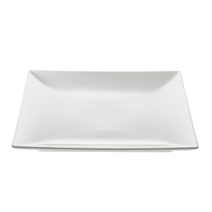 FLY-assiette plate 26.5x26.5cm blanc
