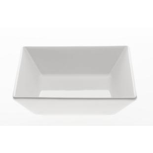 FLY-coupelle 18x18cm en gres blanc