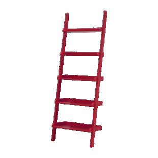 FLY-etagere droite l67cm rouge