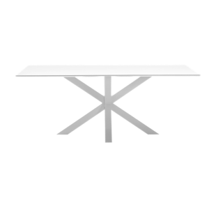FLY-table rectangulaire blanc/blanc l200