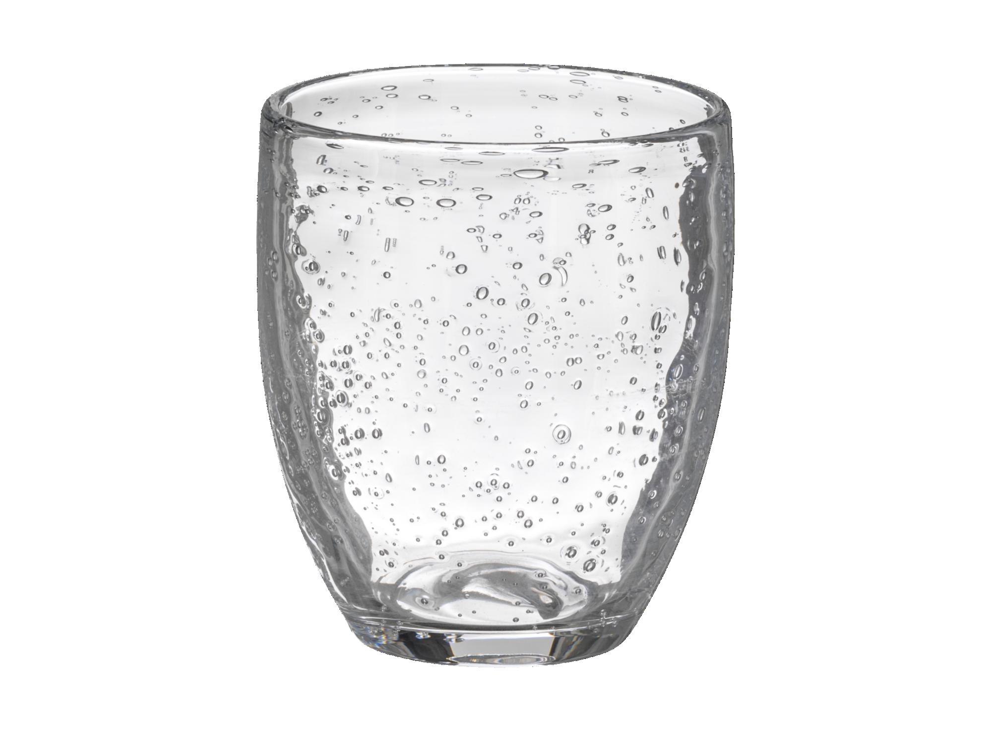 Gobelet contenance 35cl en verre brut transparent. resiste au lave-va ...
