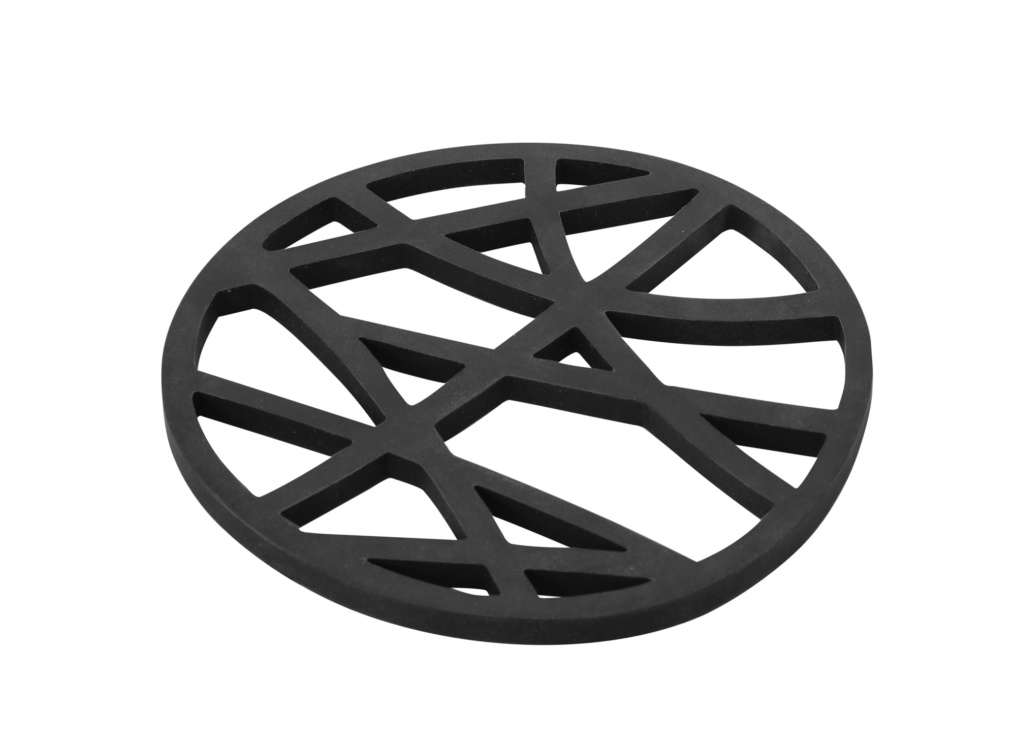 Dessous de plat d16cm en silicone noir