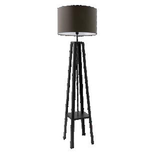 FLY-lampadaire h171 noir et poivre