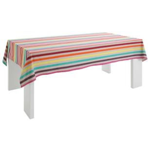 FLY-nappe coton 240x160 cm rayee multicolore