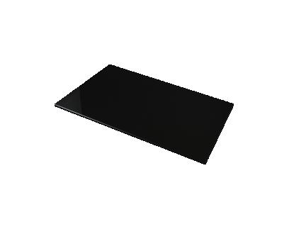 plateau verre noir l120cm | Fly