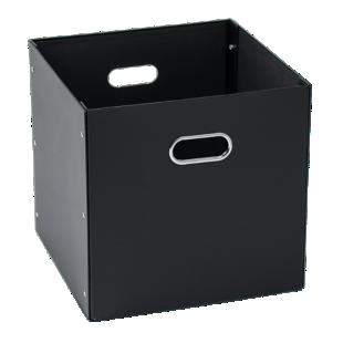 FLY-boite en carton/acier 32x32 noir