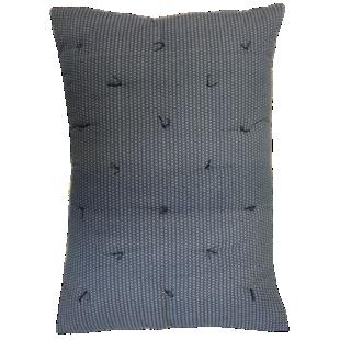 FLY-coussin coton 50x70 bleu