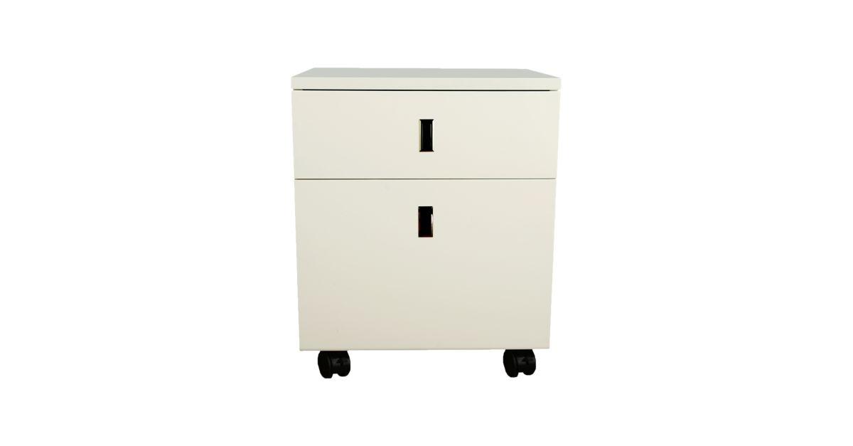 caisson blanc bureau bureau meuble fly. Black Bedroom Furniture Sets. Home Design Ideas