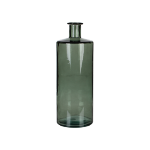 FLY-vase h40cm en verre vert