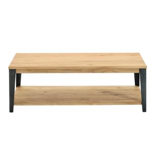 FLY-table basse gris/chene oak