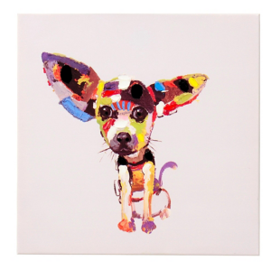 FLY-toile 50x50cm chihuahua