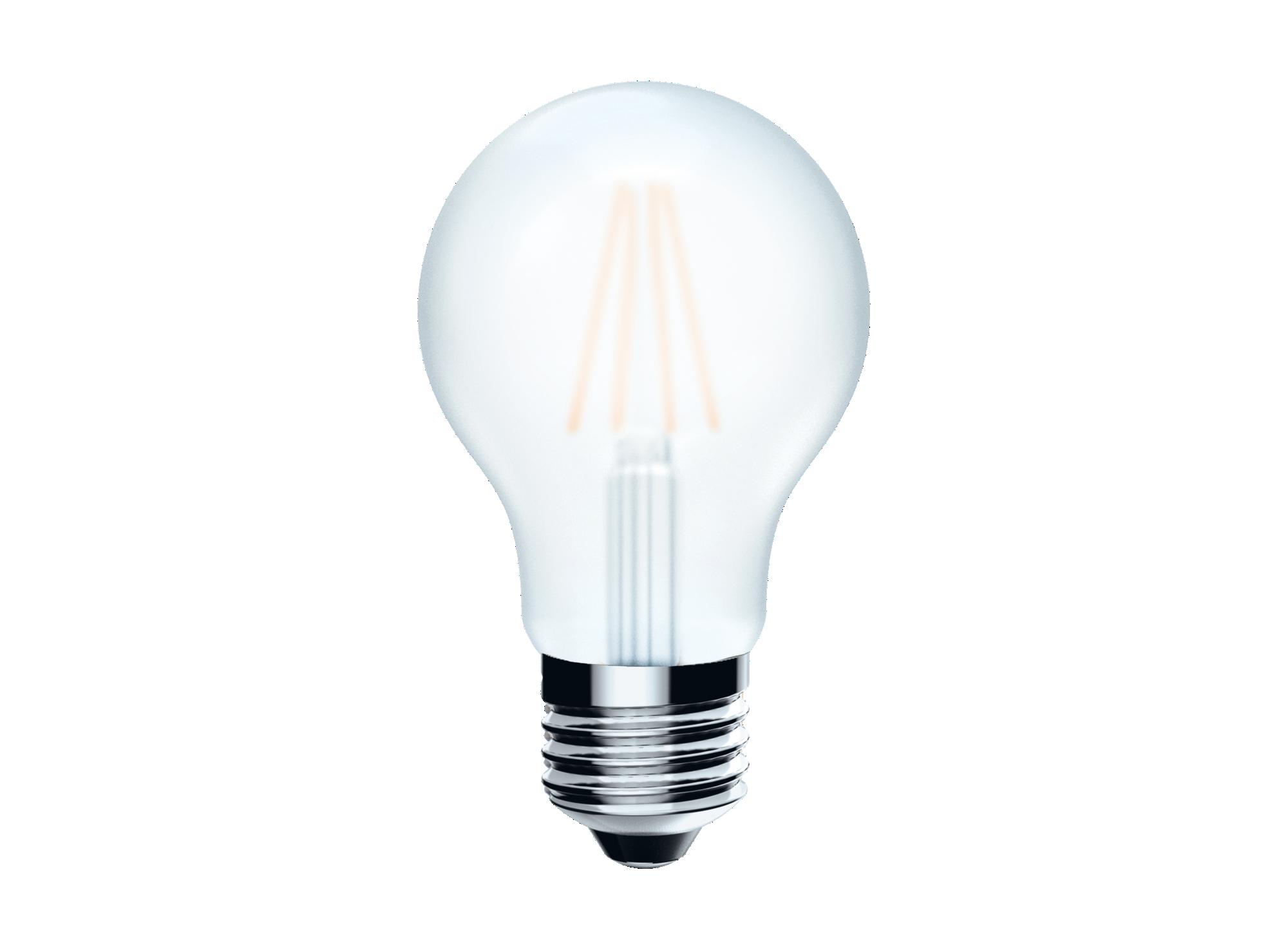Type de source lumineuse : led filament - type de culot : e27 - puiss ...